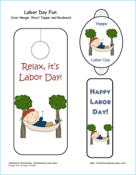 picture about Labor Day Printable identified as Labor Working day Printables